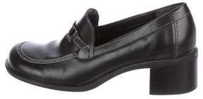 Tommy Hilfiger Leather Loafer Pumps