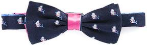 Canali wove fish bow tie