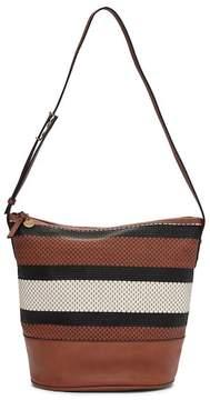 The Sak COLLECTIVE Barolo Woven Leather Bucket Bag
