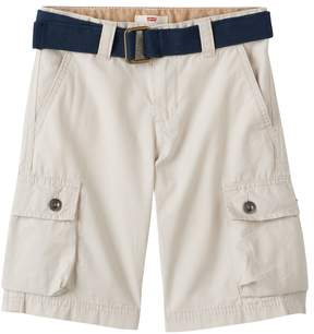 Levi's Boys 4-7x Belted Rip-Stop Cargo Shorts
