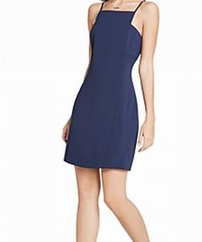BCBGeneration Womens Textured Sheath Party Dress