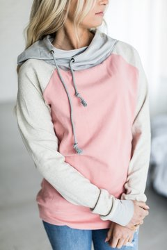 Ampersand Avenue SingleHood Sweatshirt - Neutrals