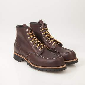 Red Wing Shoes Moc Toe Black Sole