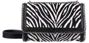 Stella McCartney Falabella Zebra Print Crossbody Bag
