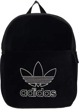 adidas Mini Classic Black Velvet Backpack