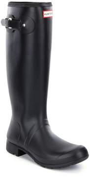 Hunter Womens Original Matte Tour Buckle Strap Rain Boots