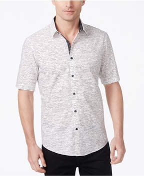 Alfani Men's Classic-Fit Dash Print Shirt
