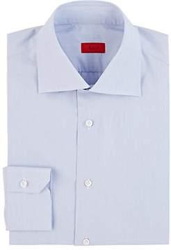 Isaia Men's Hairline-Stripe Dress Shirt