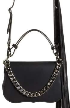 Calvin Klein Mini Fringe Leather Shoulder Bag