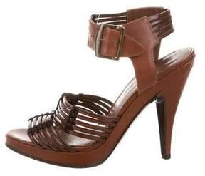 Sigerson Morrison Multistrap Leather Sandals
