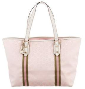Gucci GG Jolicoeur Tote - PINK - STYLE