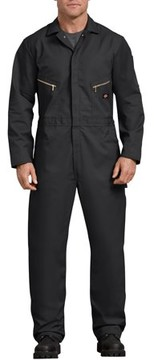 Dickies Men's Long Sleeve Deluxe Blended Twill Coverall