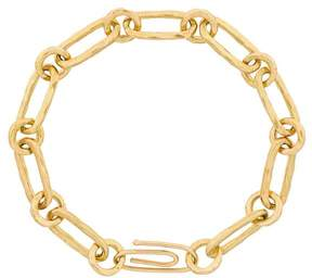 Aurelie Bidermann Hammered chain bracelet