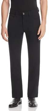Armani Collezioni Solid Classic Fit Pants
