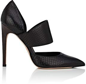 Calvin Klein WOMEN'S BLAIS BIS PYTHON PUMPS