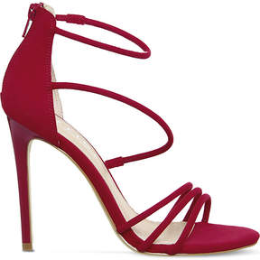 Office Harness Strappy slim heeled sandals