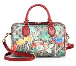 Gucci Tian Boston Bag - BEIGE-MULTI - STYLE
