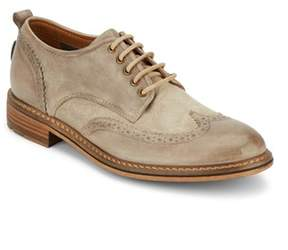 Lucky Brand Mens Hudson Wingtip Lace-up Oxford Shoe.