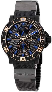 Ulysse Nardin Maxi Marine Diver Black Seal Automatic Men's Watch 263-92LE-3C-923-RG