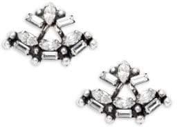 Dannijo Crystal Cosmo Stud Earrings