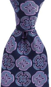 Murano Big & Tall Pedal Medallion Traditional Silk Tie