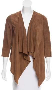 Calypso Draped Suede Jacket w/ Tags