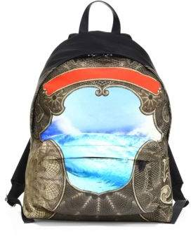 Givenchy Wave Printed Backpack