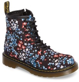 Dr. Martens Toddler Girl's Delaney Floral Boot
