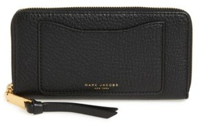 Marc Jacobs Women's 'Recruit Standard' Leather Wallet - Black
