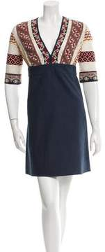 Vanessa Bruno Embroidered Ely Dress w/ Tags
