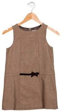 Jacadi Girls' Wool-Blend Plaid Dress