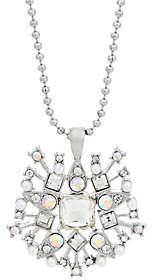 C. Wonder Crystal Starburst Pendant with Chain