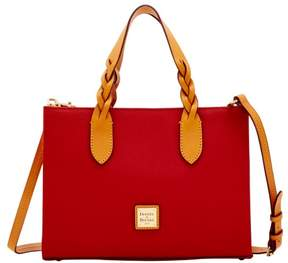 Dooney & Bourke Eva Braid Gia Satchel - RED - STYLE