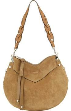 Jimmy Choo Artie Suede Shoulder Bag (Women's)