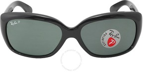 Ray-Ban Jackie Ohh Polarized Green Classic G-15 Ladies Sunglasses RB4101 601/58