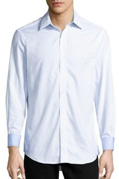 Report Collection Regular Fit Button-Down Cotton Shirt