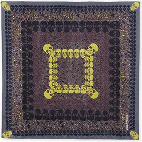 Zadig & Voltaire Lotty Garden silk scarf