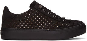 Jimmy Choo Black Suede Ace Sneakers