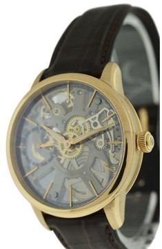Maurice Lacroix Masterpiece Skeleton 18K Rose Gold Mens Watch
