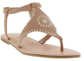 Nicole Miller Women's Pyramid Thong Sandal.