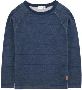 Name It Stripe print organic cotton sweater