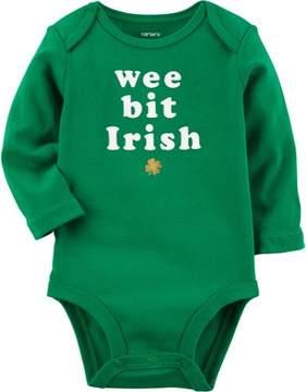 Carter's Baby Girls Wee Bit Irish Bodysuit
