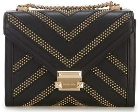 MICHAEL Michael Kors Whitney Chevron Stud Large Shoulder Bag