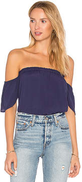 Blq Basiq Bare Shoulder Top
