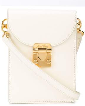 Mark Cross mini foldover shoulder bag