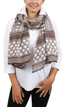 Gianfranco Ferre Scr10844/4 Brown Scarf.