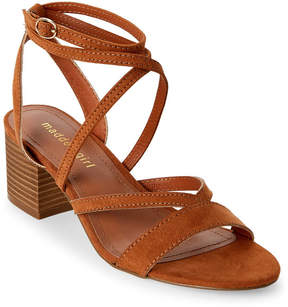 Madden-Girl Chestnut Leexi Strappy Block Heel Sandals