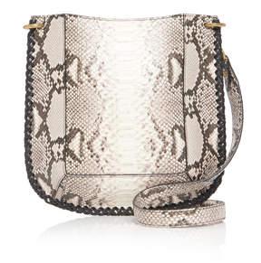 Isabel Marant Oskan Snake-Effect Leather Shoulder Bag