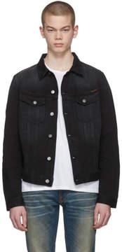 Nudie Jeans Black Denim Billy Jacket