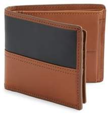 Fossil Patch Leather Bi-Fold Wallet